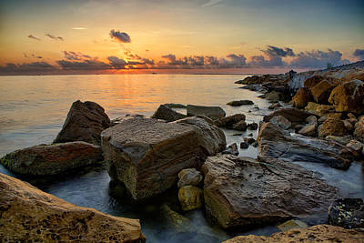 Coastal Morning Poster by Thomas Zimmerman