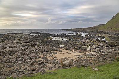 Coastal Stone Giant's Causeway -- Ireland Poster by Betsy C Knapp