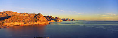 Coastline, Gulf Of California, Baja Poster by Panoramic Images