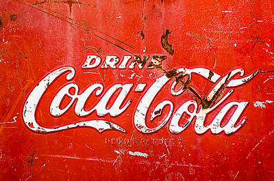 Coca-cola Sign Poster by Jill Reger
