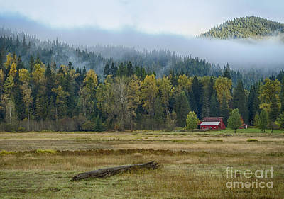 Coeur D Alene River Farm Poster by Idaho Scenic Images Linda Lantzy