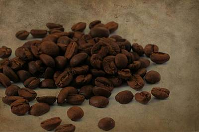 Coffee Beans In The Morning Poster by Dan Sproul
