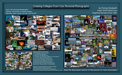 Collage Photography Services Poster by Thomas Woolworth