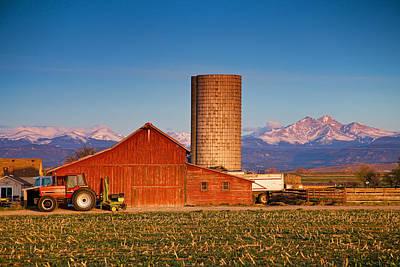 Colorado Farming Poster by James BO  Insogna