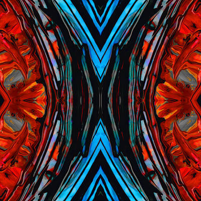 Colorful Abstract Art - Expanding Energy - By Sharon Cummings Poster by Sharon Cummings