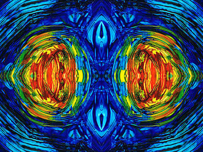 Colorful Abstract Art - Parallels - By Sharon Cummings  Poster by Sharon Cummings