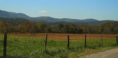 Colorful Cades Cove Poster by Dan Sproul