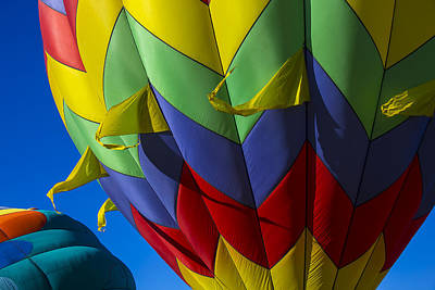 Colorful Hot Air Balloon Poster by Garry Gay