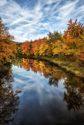 Colorful Reflection Poster by Mark Papke