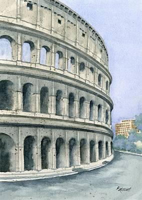 Colosseum Poster by Marsha Elliott
