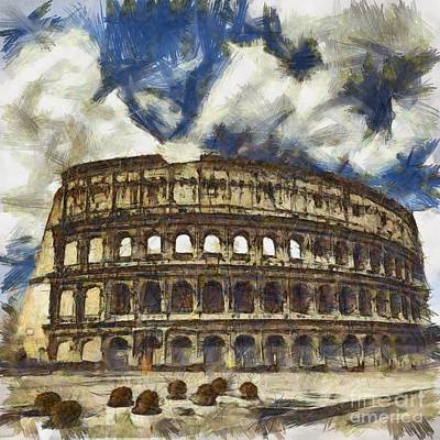 Colosseum Poster by Sophie McAulay