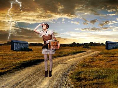 Coming Home Poster by Ester  Rogers