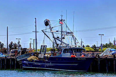 Commercial Fishing - Sea Pearl Poster by Heidi Smith