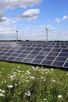Community Owned Solar Farm Poster by Martin Bond