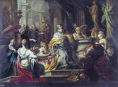 Conca, Sebastiano 1680-1764. The Poster by Everett