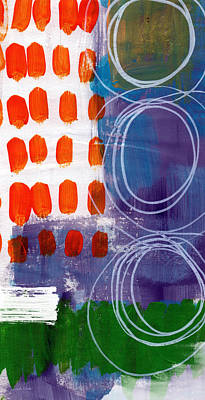Concerto One - Abstract Art Poster by Linda Woods