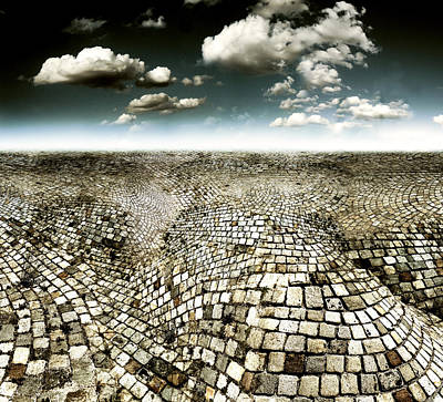 Concrete Mind Poster by Florin Birjoveanu