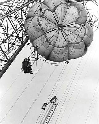 Coney Island - Parachute Jump 2 Poster by MMG Archives