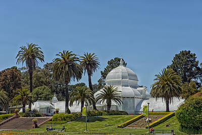 Conservatory Of Flowers Poster by Mountain Dreams