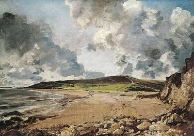 Constable, John 1776-1837. Weymouth Bay Poster by Everett