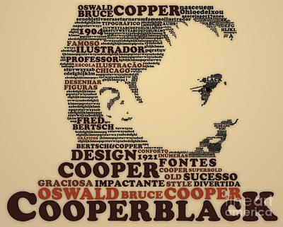 Cooper Black Poster by Caio Caldas