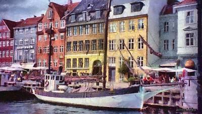 Copenhagen Poster by Jeff Kolker