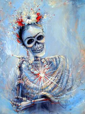 Corazon De Frida Poster by Heather Calderon