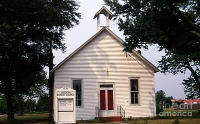 Cordova Baptist Poster by Skip Willits