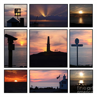 Cornish Sunsets Poster by Terri Waters