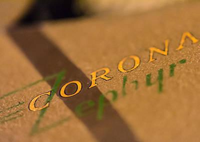 Corona Zephyr Poster by Jon Woodhams