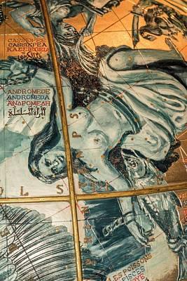Coronelli's Celestial Globe Poster by David Parker