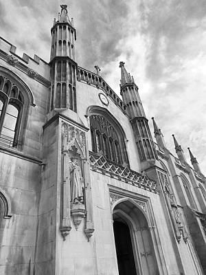 Corpus Christi College Cambridge Entrance Poster by Gill Billington