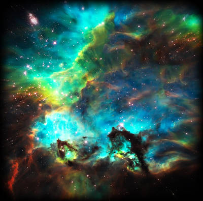Cosmic Cradle 1 Star Cluster Ngc 2074 Poster by Jennifer Rondinelli Reilly - Fine Art Photography