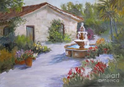 Cottage In Carmel Poster by Mohamed Hirji
