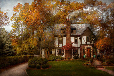 Cottage - Westfield Nj - A Home Like Any Other Poster by Mike Savad
