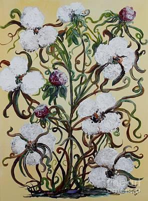 Cotton #1 - King Cotton Poster by Eloise Schneider