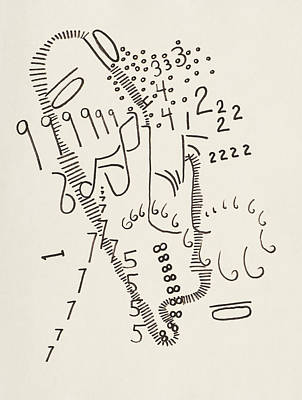 Kindergarten Countdown Poster by Rick Stecz