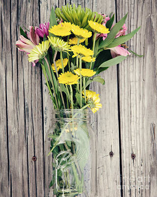 Country Bouquet Poster by Kim Fearheiley
