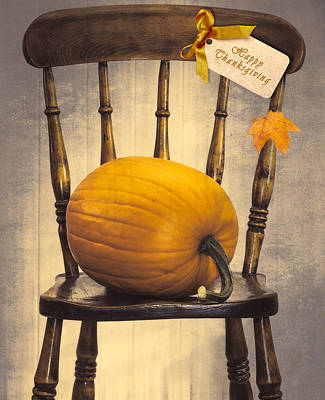 Country House Chair Poster by Amanda Elwell
