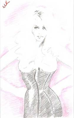 Courtneyx Poster by Michelle Kinzler