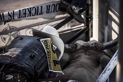 Cowboy Up Poster by Amber Kresge