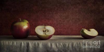 Cox Orange Apples Poster by Priska Wettstein
