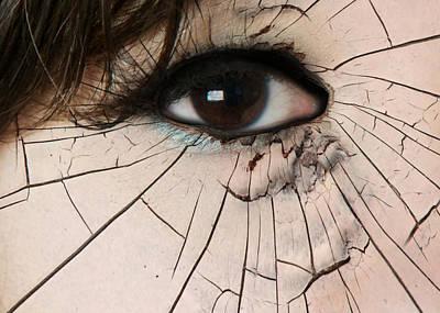 Cracking Up Poster by Lisa Knechtel