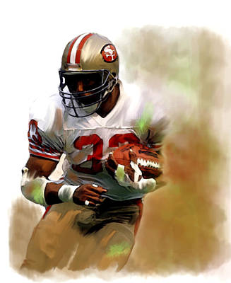 Craig    Roger Craig  Poster by Iconic Images Art Gallery David Pucciarelli