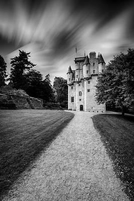 Craigievar Castle Poster by Dave Bowman