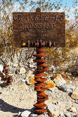 Crankshaft Crossing  Poster by James Marvin Phelps