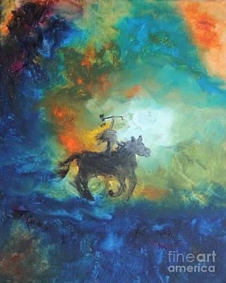 Crazy Horse Poster by Ayasha Loya Aka Pari  Dominic