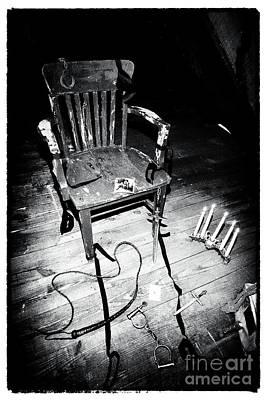 Crime Scene Poster by John Rizzuto