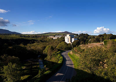 Croaghaun Hill And Flahavans Mills Poster by Panoramic Images