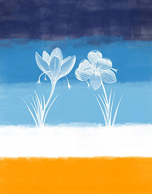 Crocus Flower Poster by Aged Pixel